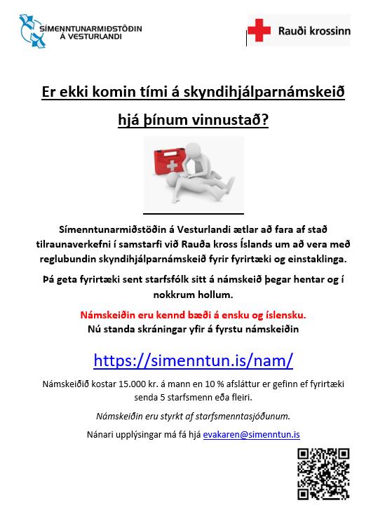 Síðustu námskeiðin fyrir jól eru í næstu viku !! Ertu búin að skrá þig og þína ?